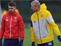 Wenger phủ nhận thông tin Barca muốn chiêu mộ Ramsey