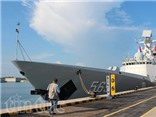 Cận cảnh tàu chiến Trung Quốc 'khoe hàng' tại triển lãm ở Singapore