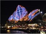 Biến Sydney thành tác phẩm điêu khắc bằng ánh sáng