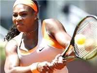 Serena được thời gian ủng hộ