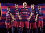 Chiêm ngưỡng áo đấu mới của Barcelona