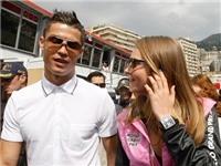 Cristiano Ronaldo song hành cùng người đẹp trước thềm Monaco GP