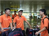 CHÙM ẢNH: U23 Việt Nam hội quân đầy đủ tại Singapore, sẵn sàng thi đấu SEA Games 2015
