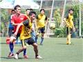 Giải bóng đá TTXVN mở rộng lần II - Cúp Mắt Bão 2015: Chủ giải B2 FC vào bán kết