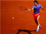 Vòng 2 đơn nam Roland Garros: Federer - Granollers (6-2, 7-6, 6-3)