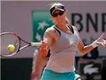 Vòng 2 đơn nữ Roland Garros: Lucic-Baroni - Halep (7-5, 6-1)