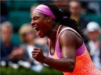 Vòng 2 đơn nữ Roland Garros: Serena Williams ngược dòng, Wozniacki bất ngờ thất bại
