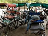 Cơn ác mộng nắng nóng Ấn Độ: Tránh ánh mặt trời và ngồi nghỉ trong bóng râm là điều xa xỉ