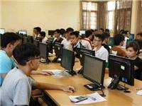 Lần đầu tiên học sinh thi đánh giá năng lực trên máy tính để tuyển sinh vào đại học