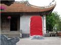 """Đền trần Thái Bình: Đã """"xóa sổ"""" những bia đá phản cảm"""