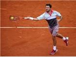 Vòng 4 đơn nam Roland Garros: Bất ngờ mang tên Tsonga