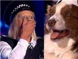 VIDEO: Không thể tin nổi, cặp đôi thí sinh người và chó đăng quang Britain's Got Talent Anh 2015