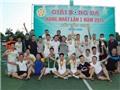 Giải bóng đá hạng nhất Nghệ An cúp Văn Minh 2015: FC T&Đ giành cúp vô địch