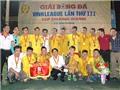 Kết thúc giải bóng đá Vinh League - Cúp Chương Dương 2015: FC Văn Minh lần thứ 3 đăng quang