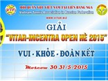 70 VĐV dự giải tennis Vitar-Incentra Open Hè 2015