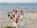 CHÙM ẢNH: Nắng như đổ lửa, biển Đà Nẵng ngập tràn khách trốn nóng