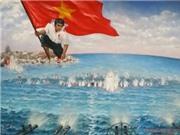Tranh vẽ Gạc Ma được Thượng tọa Thích Thanh Phong trả giá 400 triệu đồng