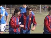 Barca tung clip chưa từng công bố về Messi