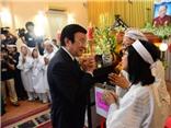VIDEO: Chủ tịch nước Trương Tấn Sang: 'GS Trần Văn Khê là tài sản quý báu của văn hóa Việt Nam'