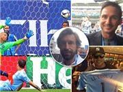 Frank Lampard, Andrea Pirlo và Gareth Bale đến Mỹ xem bóng đá