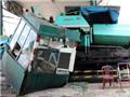 Tai nạn nghiêm trọng: Xe tải húc đổ trạm thu phí