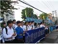 Chùm ảnh: Hàng nghìn người tiễn đưa GS Trần Văn Khê