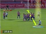 VIDEO: Xem lại 'siêu phẩm' đá phạt của Messi vào lưới Paraguay năm 2012