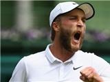 Liam Broady bị phạt vì chửi thề sau chiến thắng tại vòng 1 Wimbledon