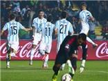 Marcos Rojo giúp Argentina mở tỉ số trước Paraguay