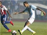 Di Maria ghi bàn vào lưới Paraguay, nâng tỉ số lên 3-1 cho Argentina