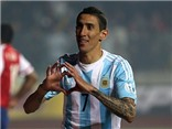 Di Maria lập cú đúp, giúp Argentina dẫn trước Paraguay 4-1