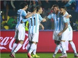 Hạ Paraguay 6-1, Argentina gặp Chile ở Chung kết Copa America 2015