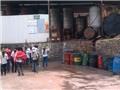 Ngăn chặn đối tượng đập phá nhà máy ở Thái Nguyên