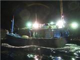 Cứu tàu cá chết máy đang bị sóng biển nhấn chìm