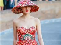 Áo dài Hoa hậu Thùy Dung mặc bị cho là giống Trung Quốc