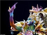 Bí ẩn, cuốn hút, kỳ dị những tuyệt tác body painting trên cơ thể người