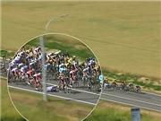 CHÙM ẢNH: Tai nạn liên hoàn ở Tour de France khiến nhiều tay đua chấn thương nặng