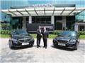 Khách sạn Le Méridien Sài Gòn khẳng định đẳng cấp với Mercedes-Benz E-Class
