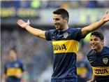 Siêu phẩm 'Rabona' được ghi trong ngày Tevez ra mắt Boca Juniors