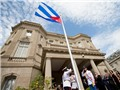 VIDEO: Hoãn lễ thượng cờ Đại sứ quán Mỹ tại Cuba
