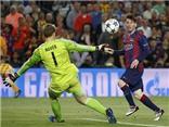 Messi, Ronaldo, Neymar tranh giải bàn thắng đẹp nhất mùa 2014-15 của UEFA