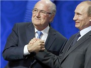Tổng thống Nga Vladimir Putin: 'Sepp Blatter xứng đáng giành được giải... Nobel'