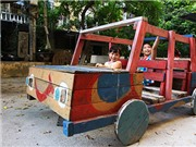 Những sân chơi trẻ em 'độc' nhất Hà Nội