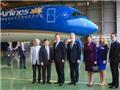 Chùm ảnh: Thủ tướng Anh David Cameron thăm 'siêu máy bay' A350-900 XWB của Vietnam Airlines