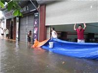 Nam Định cũng bất ngờ ngập sâu sau cơn mưa lớn