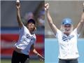Caroline Wozniacki gây ấn tượng ở môn... bóng chày