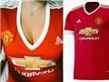 Adidas lên tiếng bảo vệ mẫu áo đấu sexy của nữ Man United