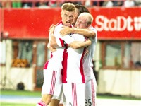 Vòng sơ loại Champions League: Ajax bị loại sốc. El Shaarawy ghi bàn ra mắt Monaco