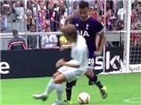 Luka Modric bị sao trẻ của Tottenham xỏ háng dễ dàng