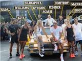 Dàn sao quần vợt trị giá tỷ đô tham dự show quảng cáo hoành tráng của Nike